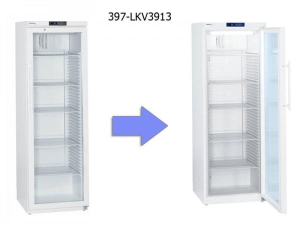 Frigider Liebherr pentru laborator 344 de litri usa cristal si lumina LED